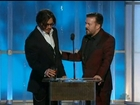 GOLDEN GLOBES: Ricky Gervais mocks Johnny Depp