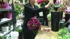 Make Bridal Bouquet out of Silk Flowers