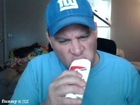 shoenice22 eats a stick of deodorant