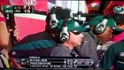 Andy Reid Gets Punched in the Stomach
