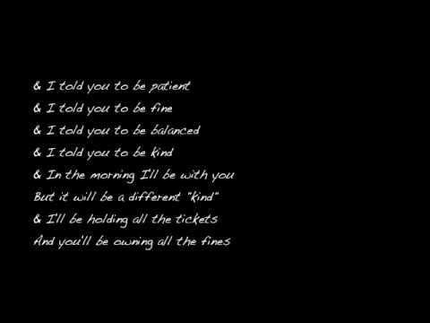 Skinny love lyrics