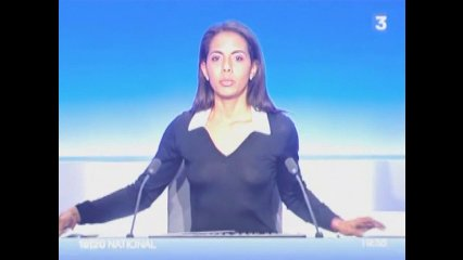 Audrey Pulvar seins en transparence | PopScreen