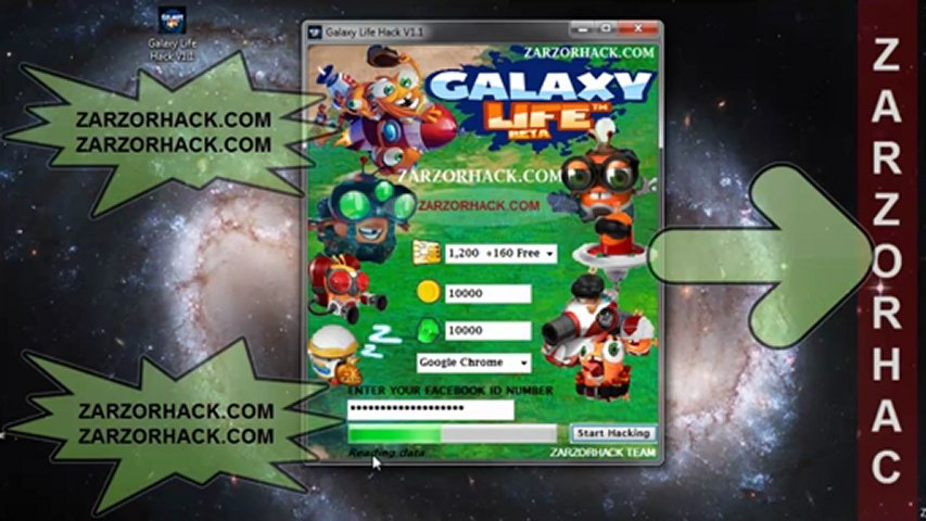 Galaxy Life Hack Cheat Latest Free Download Working | PopScreen