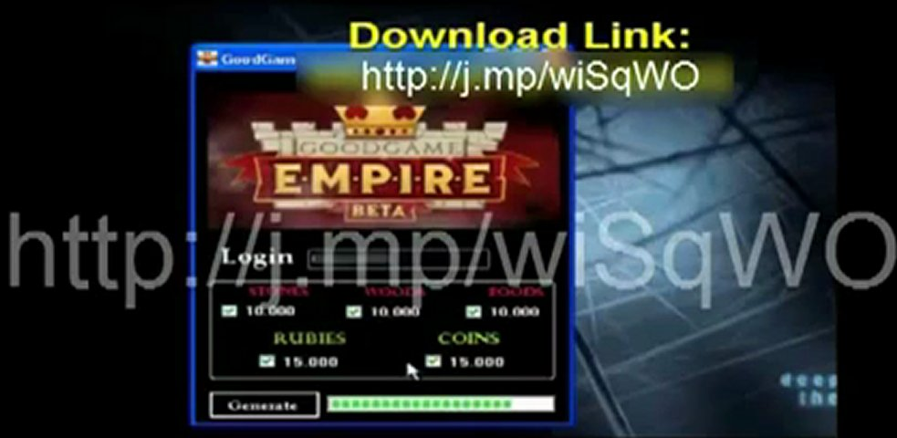 GoodGame Empire Hack Cheat + UPDATED LINK DOWNLOAD