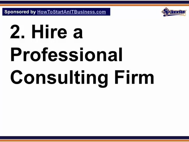 creating a business plan for a consulting business