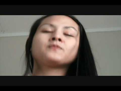 Asian Girl Hocking and Spitting Phlegm | PopScreen