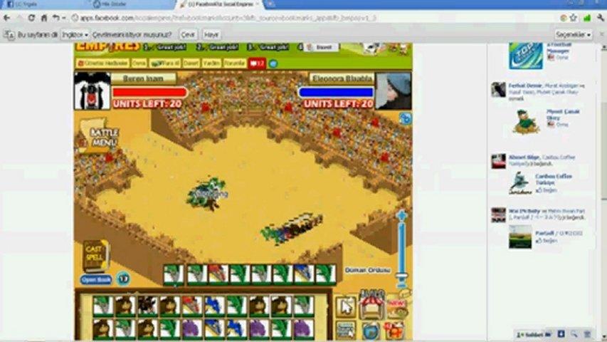 Social Empires Tournament Cheats  PopScreen