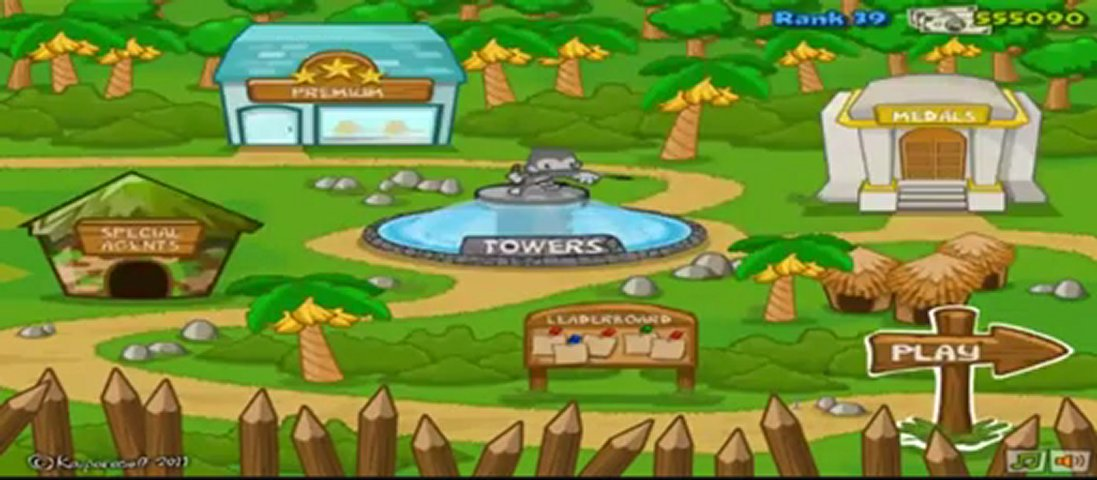 bloon tower defence 3 cheats codes