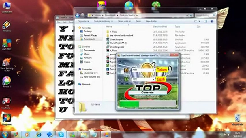 Top Eleven Football Manager Hack Cheat + UPDATED DOWNLOAD LINK 2012