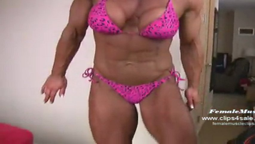 Amber Deluca Female Muscle Fbb Amazon Lift And Carry