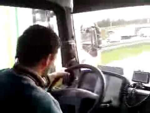Kierowca tira z Rumuni - Romanian truck driver [Crazy Dance] | PopScreen