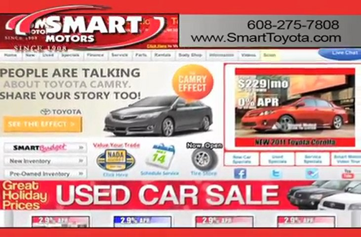 Madison Wi Smart Toyota Vehicle Review Popscreen