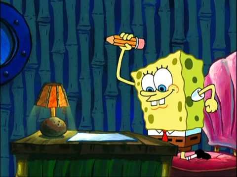 SpongeBob SquarePants - Essay Writing