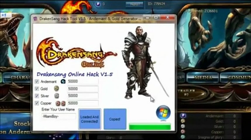 DRAKENSANG HACK ADERMANT FREE Download GOLD SILVER GENERATOR