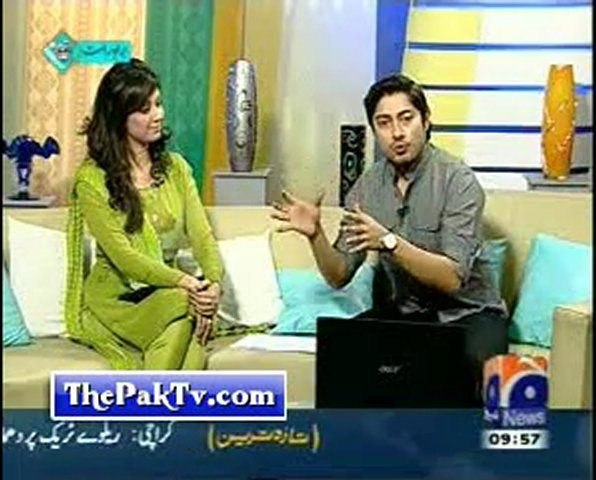 Geo News Morning Show - Geo Pakistan - 25th Feb 2012 -Prt 3 | PopScreen