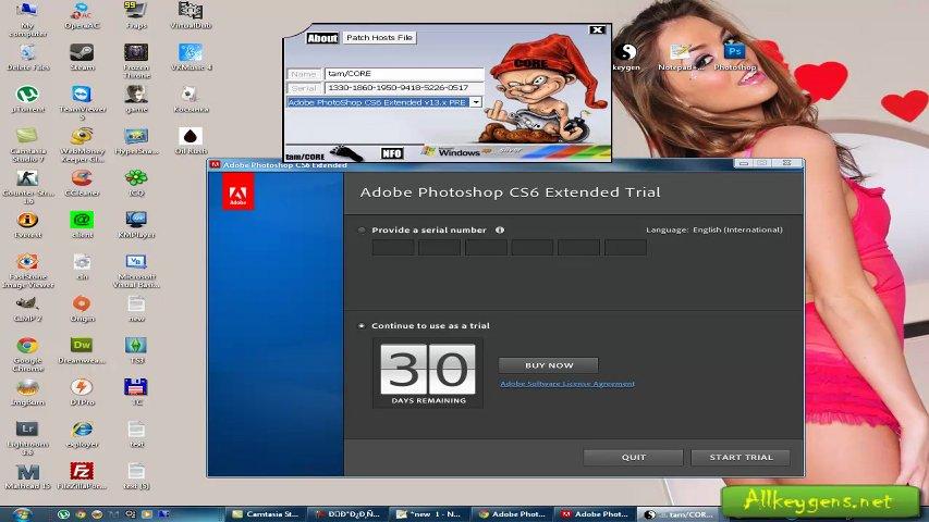 Кто нибудь может дать ключ на Adobe Photoshop CS6?(ОченьAdobe Photoshop Ext