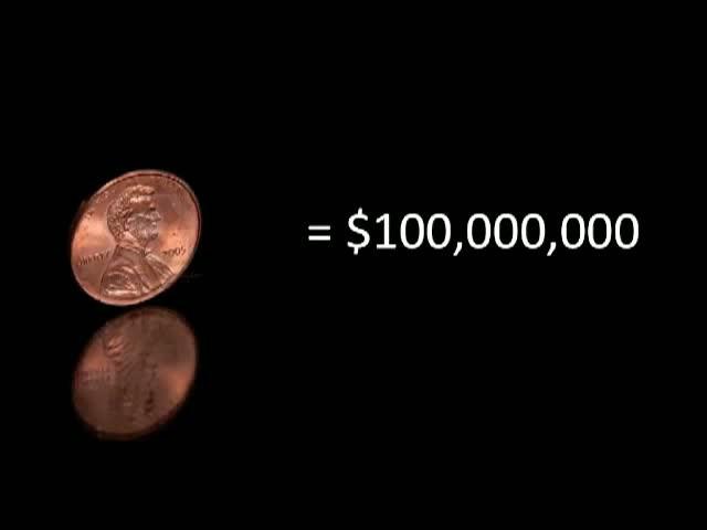 1 Million Dollars In Pennies