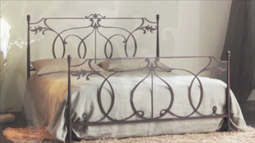 Letto in ferro battuto modello CONCERTO Cosatto in vendita on-line: www.giwamaterassi.it  PopScreen