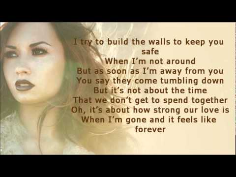 Demi Lovato - My Love Is Like A Star (Lyrics On Screen + Download Link