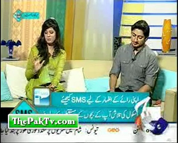 Geo News Morning Show - Geo Pakistan - 25th Feb 2012 -Prt 2 | PopScreen