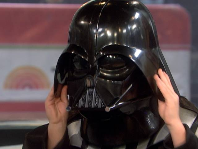 Unmasked! Meet the boy behind Darth Vader | PopScreen