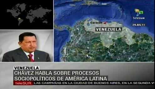 Chávez habla sobre procesos sociopolíticos en Latinoamérica | PopScreen
