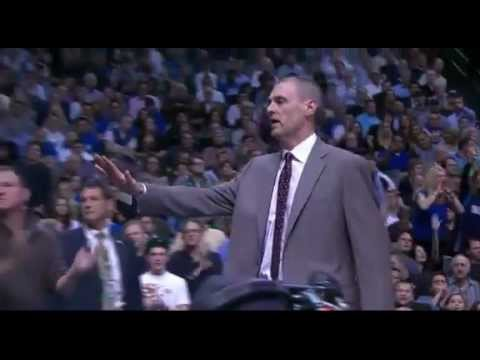 Rick Carlisle Technical Foul- kicks a ball at fans head & Ejected | PopScreen