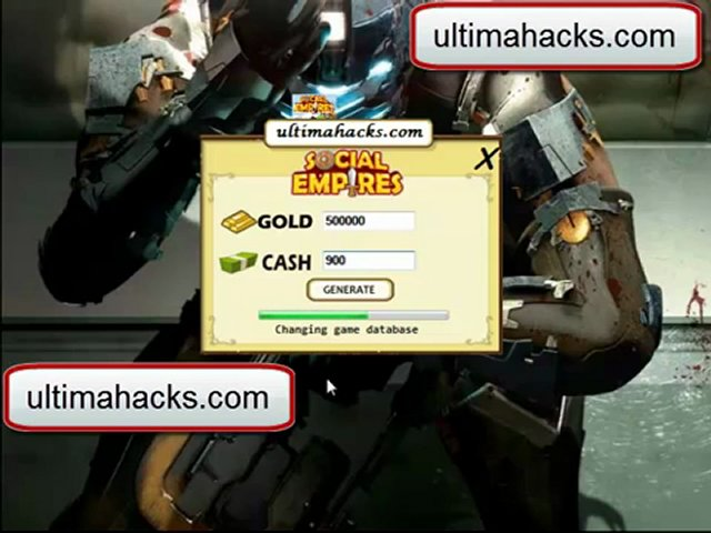 Social Empires Gold and Cash Hack FREE Download 2012 | PopScreen