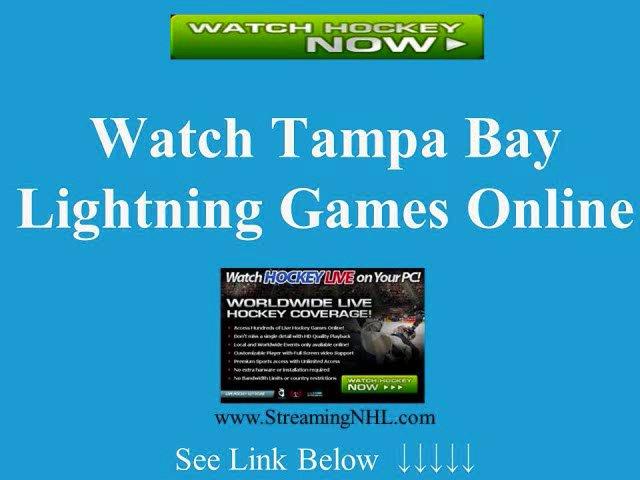 watch tampa bay lightning online lightning hockey game live