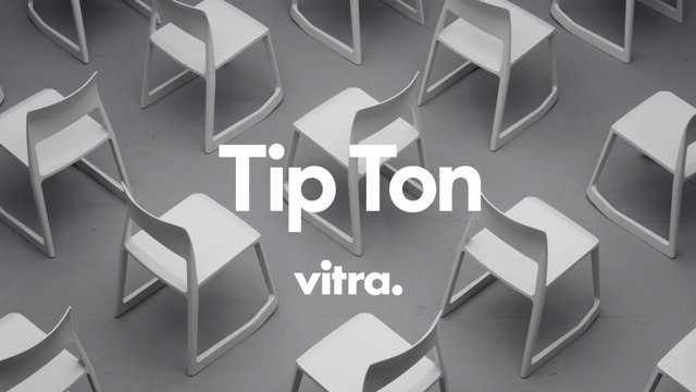 vitra tip ton chair popscreen. Black Bedroom Furniture Sets. Home Design Ideas