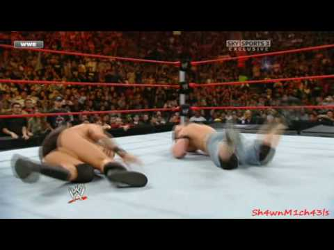 Randy Orton Vs. John Cena Highlights - HD No Way Out 2008 | PopScreen