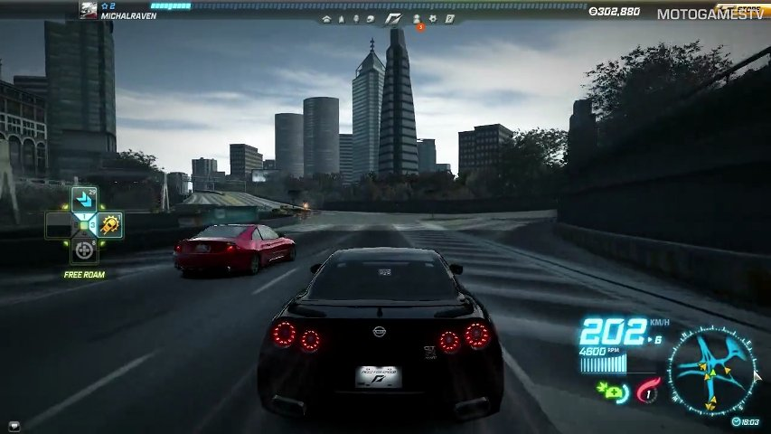 Need for Speed World - Nissan GT-R SpecV (R35) Gameplay ...