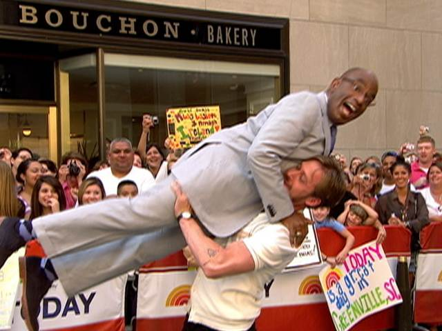 Ryan Gosling lifts Al Roker, 'Dirty Dancing' style! | PopScreen