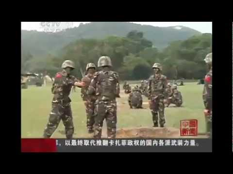 Chinese Soldiers Pass Around LIVE GRENADE In Military Training Exercise | PopScreen