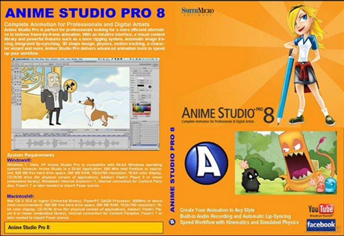 anime studio pro 8 free download with crack