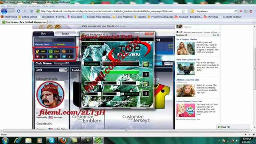 Top Eleven Hack Download(Free Tokens Hilesi V5.2b Top Eleven Hack)2011 Download | PopScreen