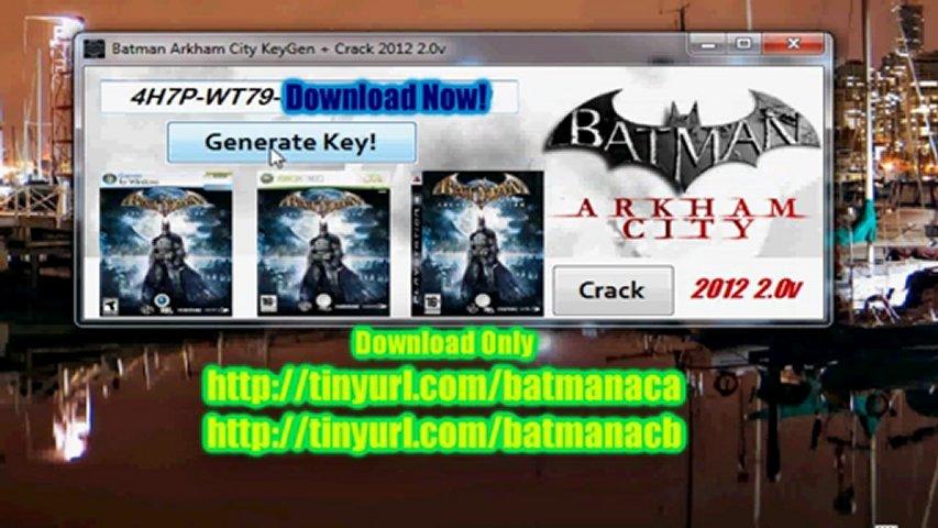 Посмотреть ролик - Batman Arkham City KeyGen Crack 2012 2.0v.