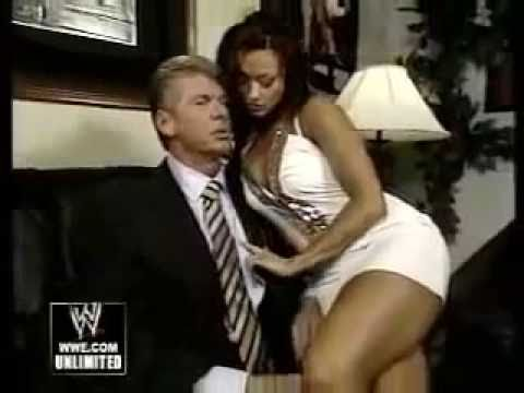 Candice Michelle and Vince McMahon go personal backstage | PopScreen