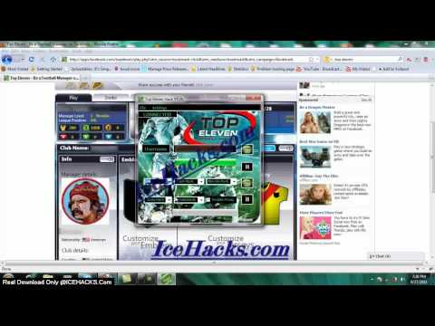 Top Eleven Cheats 2012(V5.2b Cheat Top Eleven Tokens)Free Tokens Hilesi | PopScreen