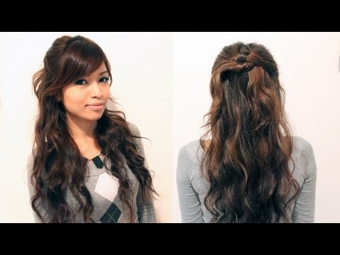 Pleasant Quick And Easy Hairstyles For School For Medium Hair Hairstyles For Men Maxibearus