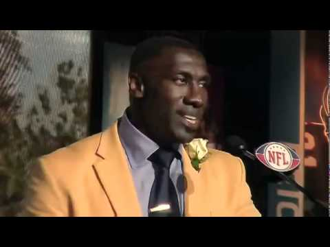 Hall Of Fame Inductee Shannon Sharpe Gives Emotional Hall of Fame Speech | PopScreen