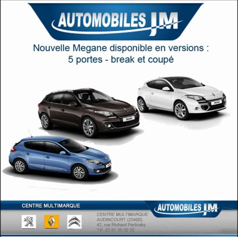 mandataire voiture neuve megane 2012 autojm popscreen. Black Bedroom Furniture Sets. Home Design Ideas