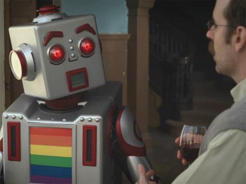 from Ryland nich swardson gay robot