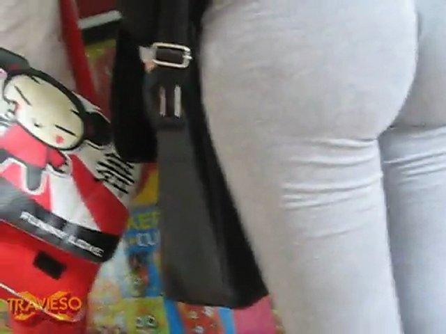 HD TRAVIESOX pantaloncito GRIS rubita_nalgas | PopScreen