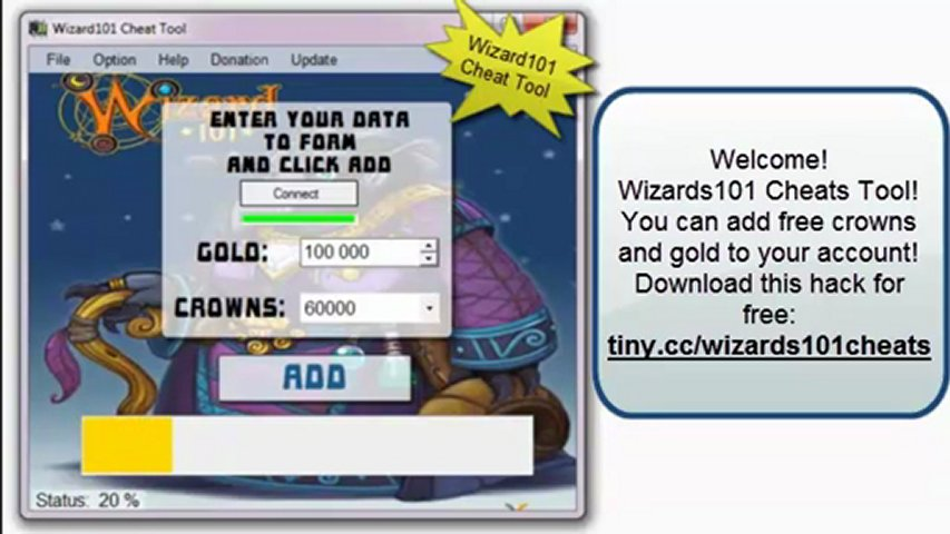 Wizard101 Cheats: Gold and Crown Maker + Watch The Proof (Updated 2012