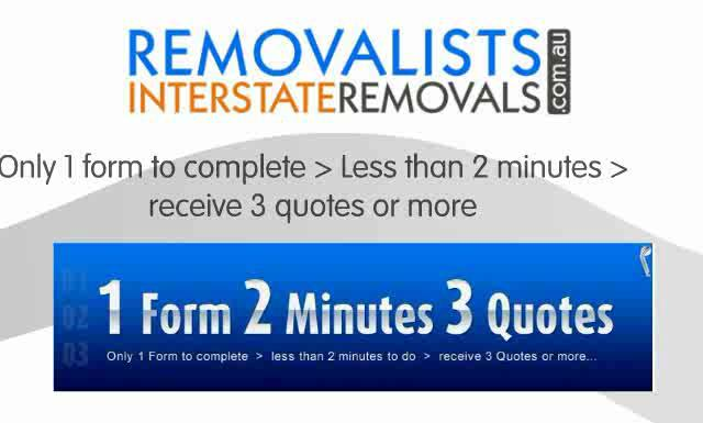 Interstate Furniture Removalist Popscreen
