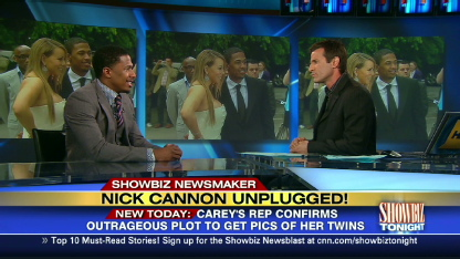 Nick Cannon on baby photo scandal | PopScreen