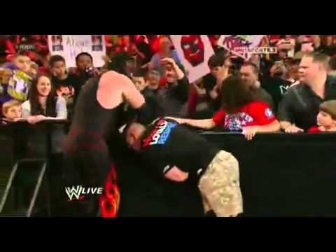 John Cena Destroys Kane & Saves Eve Torres - WWE Raw 1/30/12 (HQ) | PopScreen