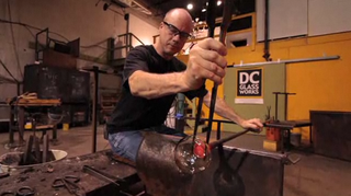 Glass Blowing: How to Use Tweezers | PopScreen