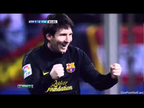 Lionel Messi Incredible Free-kick! Goal Vs Atletico Madrid 2-1 | PopScreen